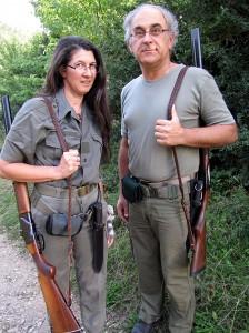 Mme FLOCH et son mari